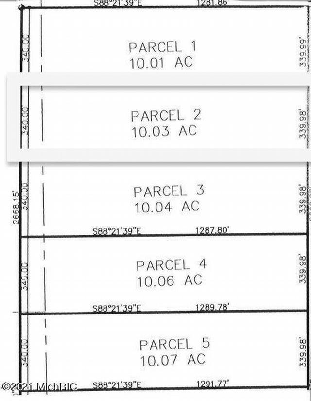 11201 Marilla Parcel 2 Rd Copemish, MI 49625