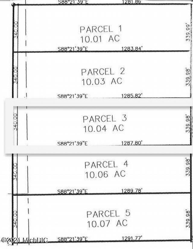 11201 Marilla Parcel 3 Rd Copemish, MI 49625