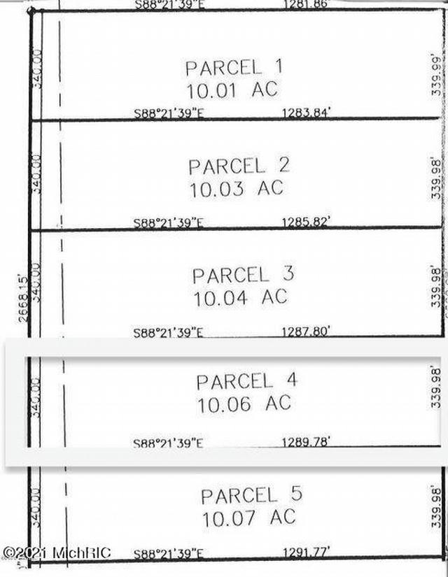 11201 Marilla Parcel 4 Rd Copemish, MI 49625