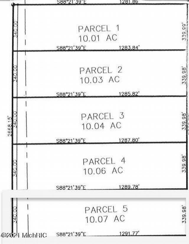 11201 Marilla Parcel 5 Rd Copemish, MI 49625