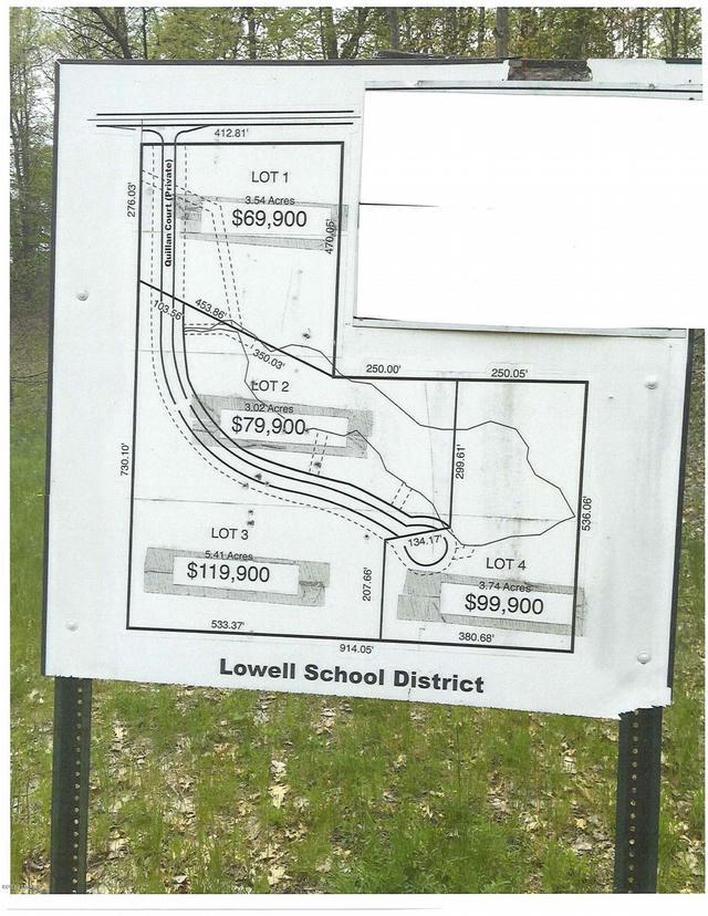 12540 5 Mile Lot 4 Ne Rd Lowell, MI 49331