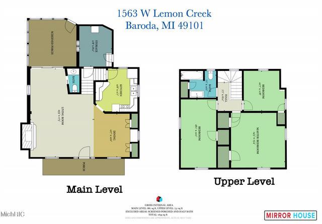 1563 W Lemon Creek Rd Baroda, MI 49101