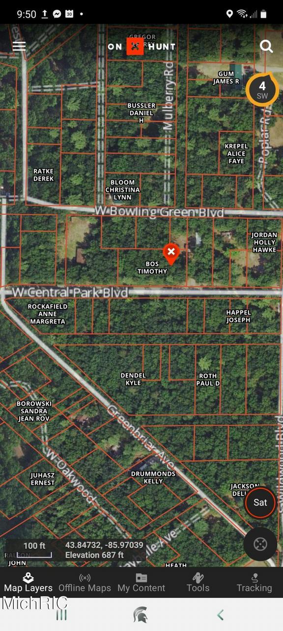 V/L W Central Park Boulevard Baldwin, MI 49304