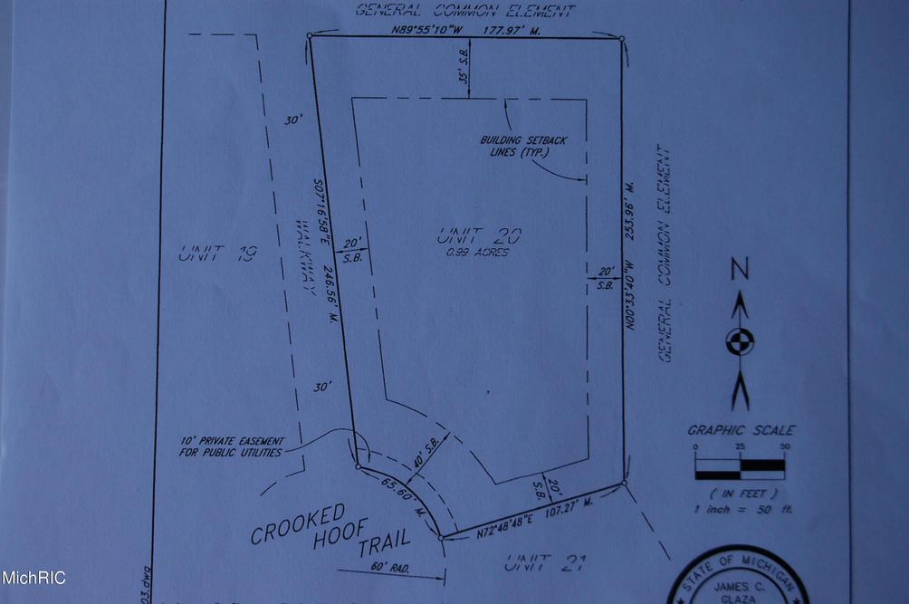 5731 Crooked Hoof Lot 20 Trail Middleville, MI 49333