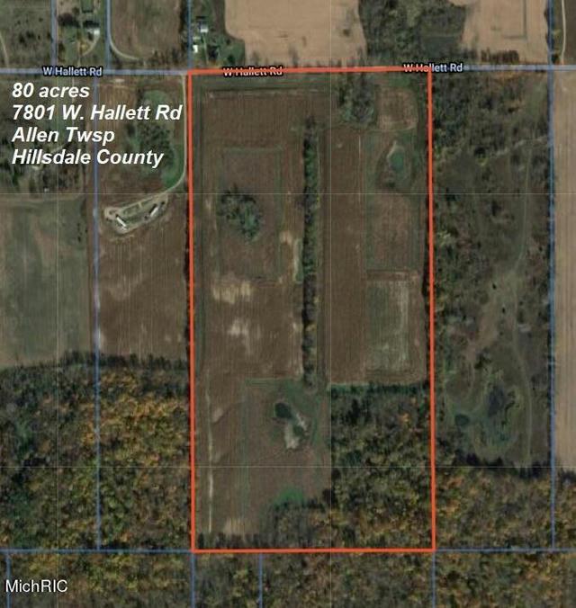 7801 W Hallett Rd Allen, MI 49227