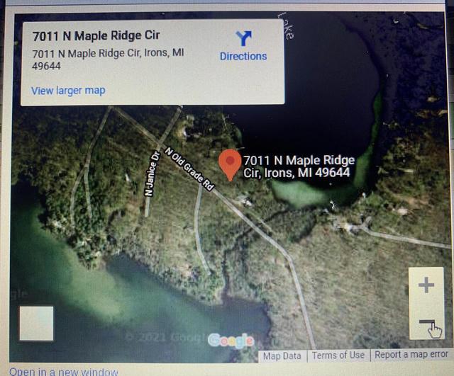 7011 N Maple Ridge Cir Irons, MI 49644