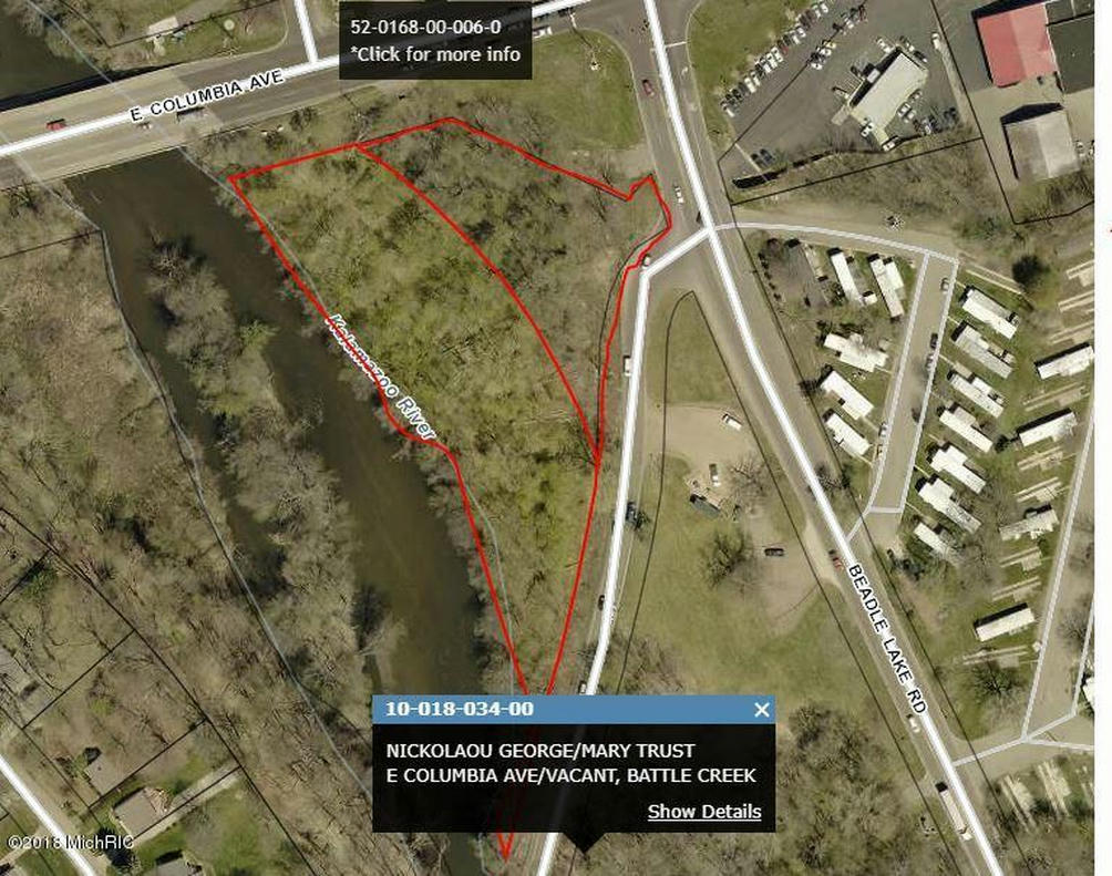 V/L E Columbia Ave Battle Creek, MI 49015