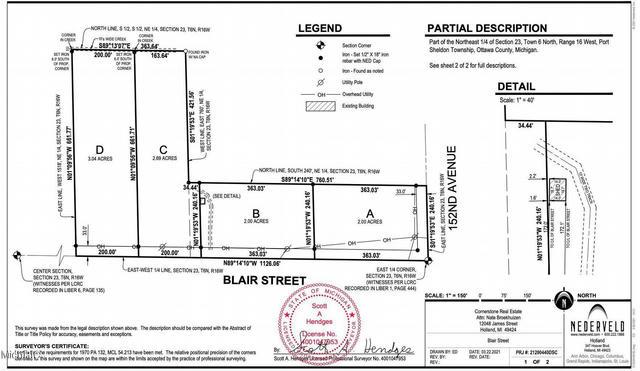 0 Blair D St West Olive, MI 49460