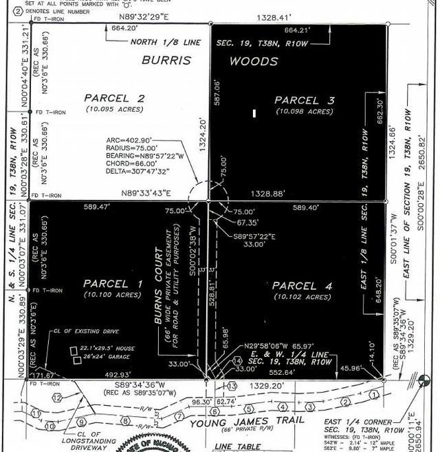 Tbd Burris Burris Woods Parcel 2 Ct Beaver Island, MI 49782