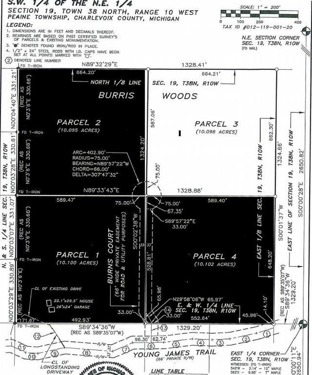 Tbd Burris Burris Woods Parcel 3 Rd Beaver Island, MI 49782