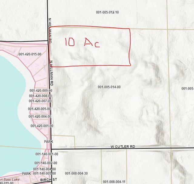 Parcel D-1 Hillman Rd Lakeview, MI 48850