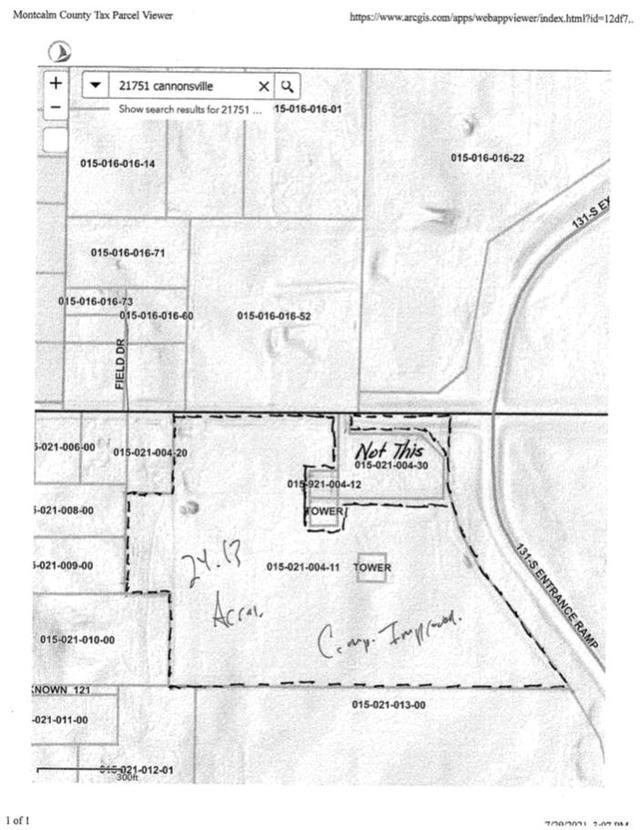 21751 W Cannonsville Rd Pierson, MI 49339