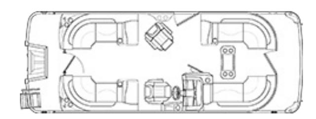 2022 Bennington L Series 22LFB - 01I122