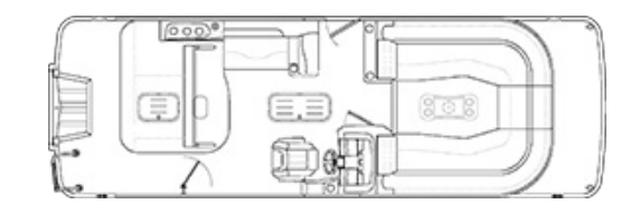 2022 Bennington LT Series 25LTSBST - 51I122