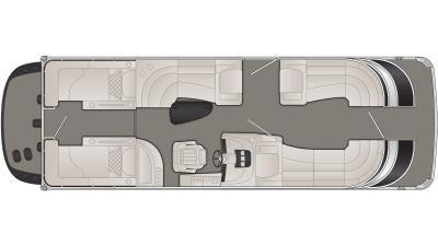 2020 Bennington Q Series 25QCWIO - Q 5638
