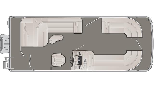 2020 Bennington SX Series 23SLX3 - SX7052