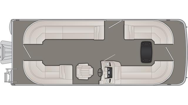 2020 Bennington SX Series 23SSRCX - SX3439
