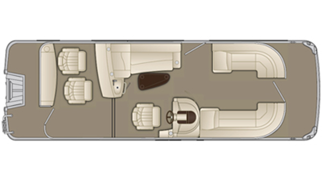 G Series 2250 GBR Floor Plan - 2017
