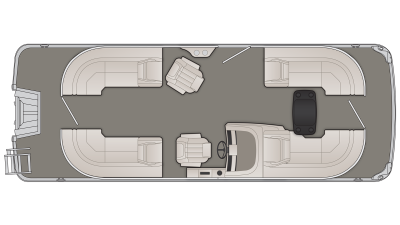 G Series 22GSR Floor Plan - 2020