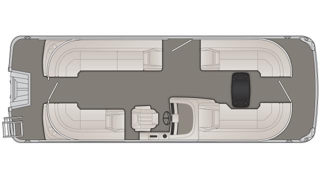 Bennington G Series 23GFBC Floor Plan - 2020