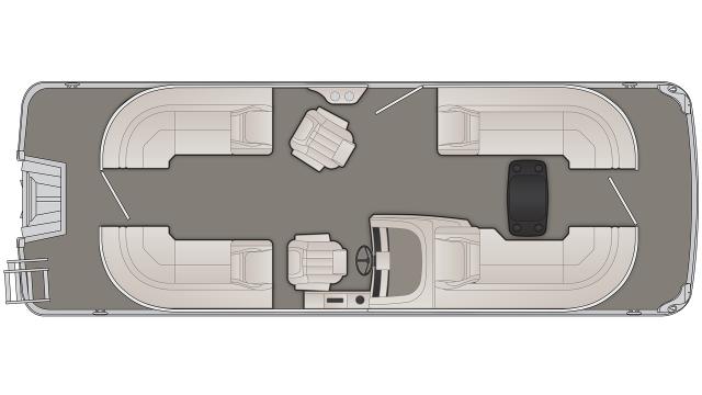 G Series 23GSR Floor Plan - 2020