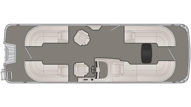 G Series 25GFBA Floor Plan - 2020