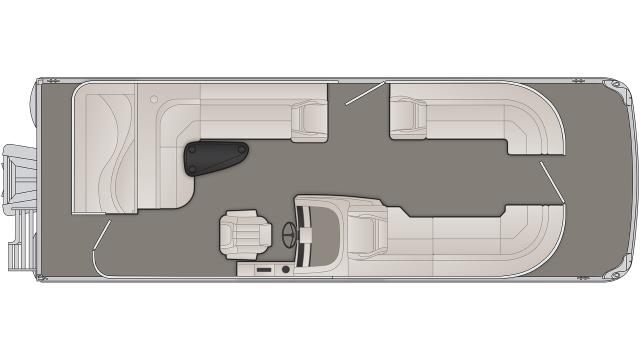 G Series 25GL Floor Plan - 2020