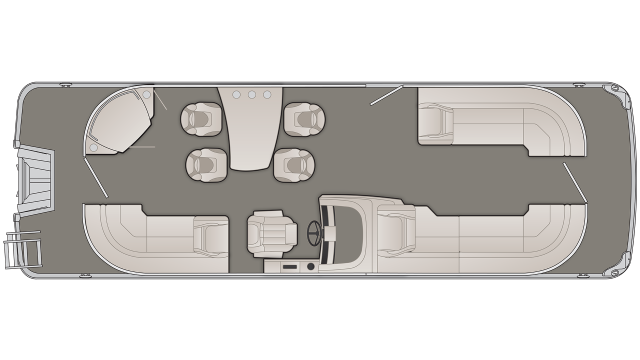 2020 Bennington G Series 25GPD - G 8350