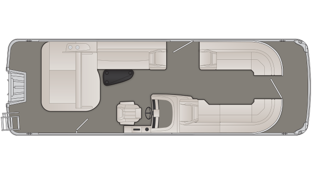 G Series 25GSB Floor Plan - 2020