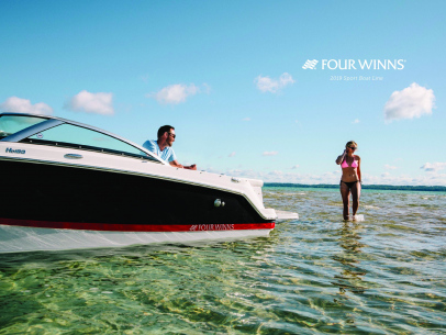 2019 Four Winns Four Winns Horizon RV Brochure Cover