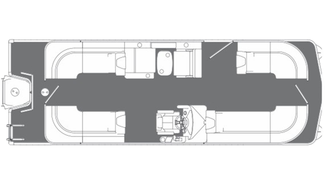 Oasis 25 SE SHP Floor Plan - 2019