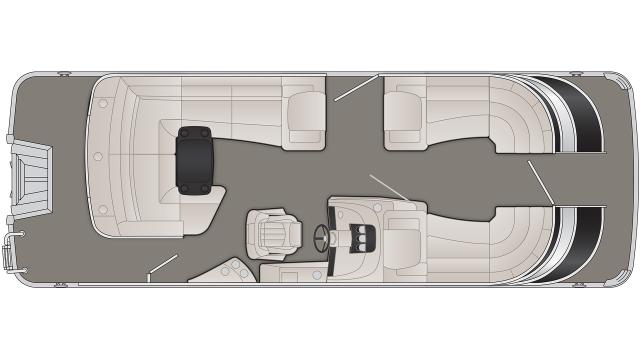 2020 Bennington Q Series 23QCL - Q 7282