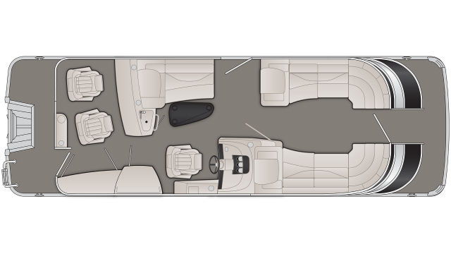 Q Series 25QBR Floor Plan - 2020