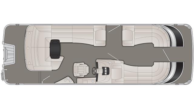 2020 Bennington Q Series 25QCL - Q 7472