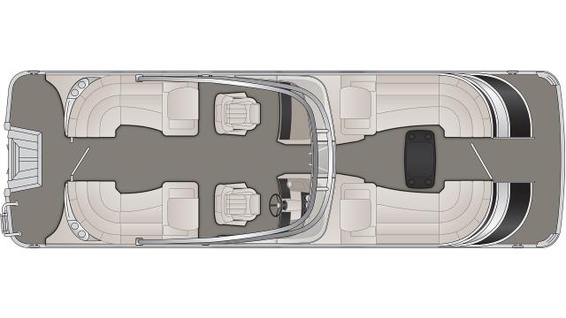 Q Series 25QFBWA Floor Plan - 2020