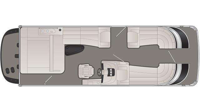 2020 Bennington Q Series 25QSBIO - Q 7332