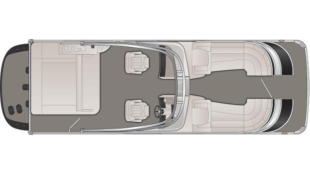 Q Series 25QSBWAIO Floor Plan - 2020