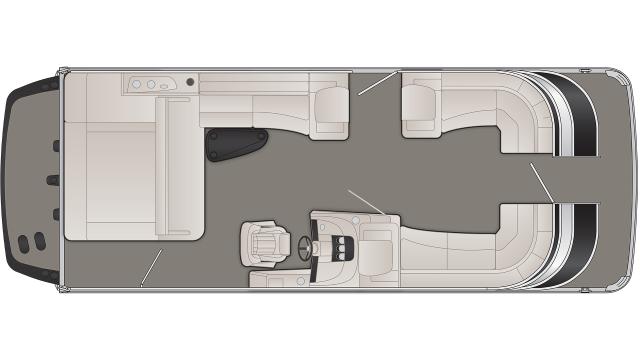 2020 Bennington Q Series 25QSBX1IO - Q 3213