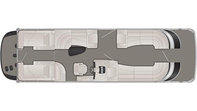 2020 Bennington Q Series 28QCWIO - Q 9179