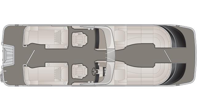 2020 Bennington QX Series 25QXCWW - QX5252