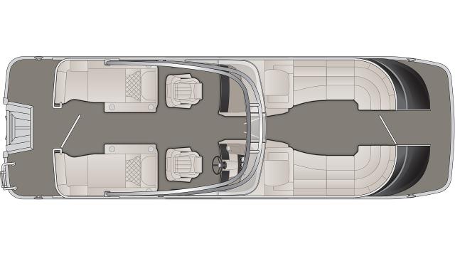 2020 Bennington QX Series 25QXCWWA - QX1018