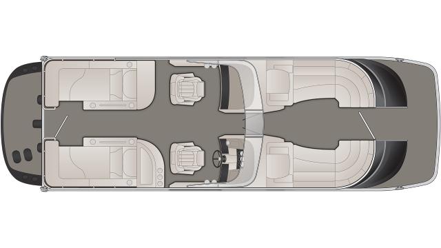 QX Series 25QXCWWIO Floor Plan - 2020
