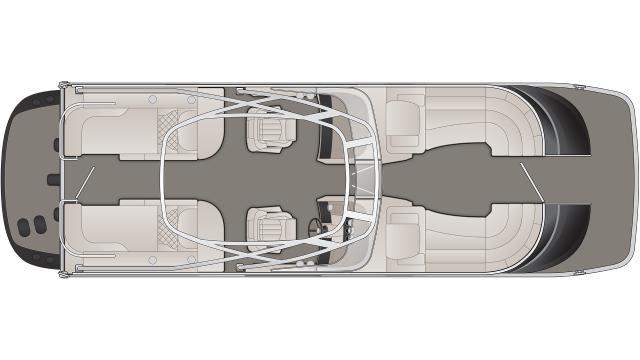 QX Series 25QXCWWTIO Floor Plan - 2020