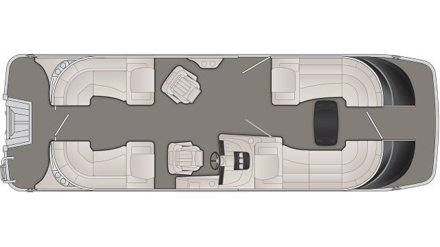 2020 Bennington QX Series 25QXFB - QX6488