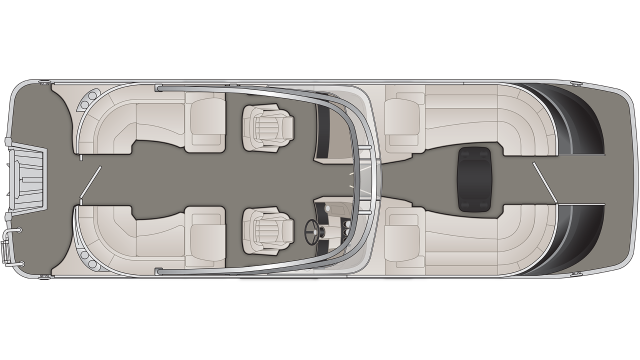 QX Series 25QXFBWA Floor Plan - 2019