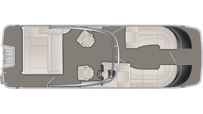 Bennington QX Series 25QXSBA Floor Plan - 2020