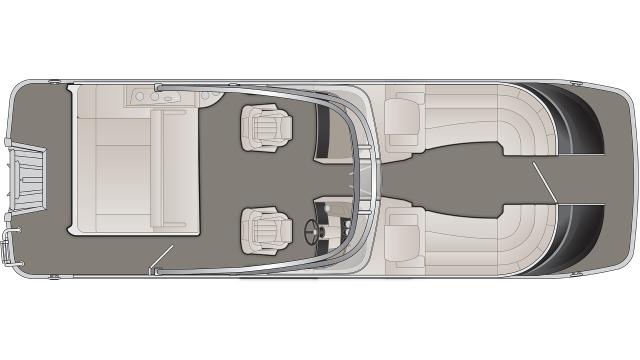2020 Bennington QX Series 25QXSBWA - QX5299
