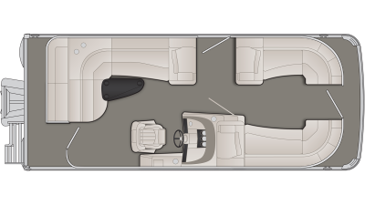 Bennington R Series 21RL Floor Plan - 2020