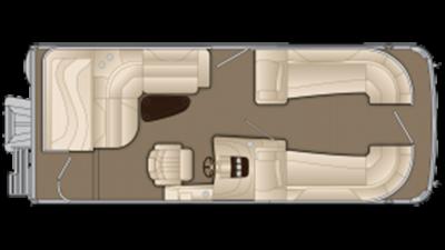 Bennington R Series 2275RL Floor Plan - 2013