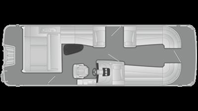 Bennington R Series 2375RSB Floor Plan - 2016